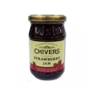 CHIVERS STRAWBERRY JAM 340ML